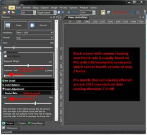 AltairCapture Black Screen