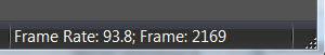 frame rate incrementing