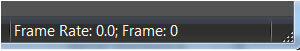 frame rate NOT incrementing